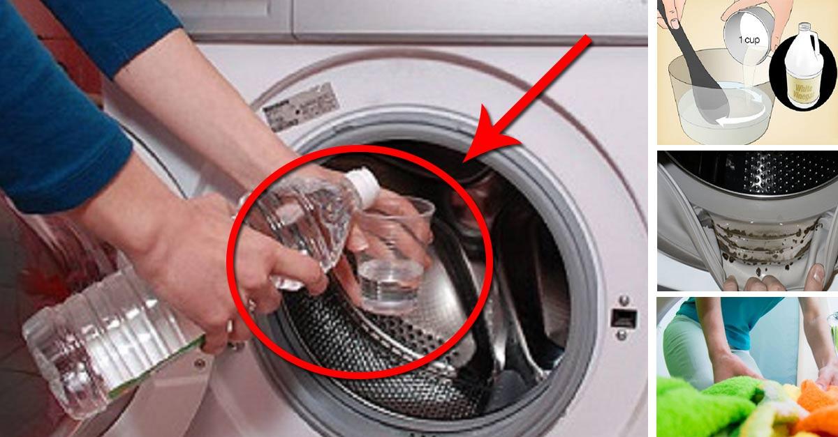 Mettre du vinaigre blanc dans la machine à laver