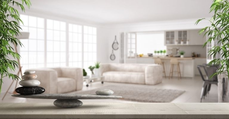 Décoration style feng shui