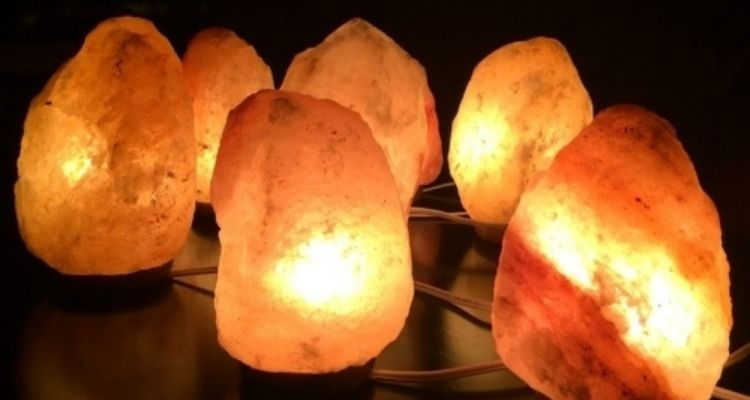 déshumidifier avec lampe de sel