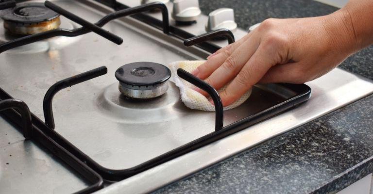 la plaque de cuisson